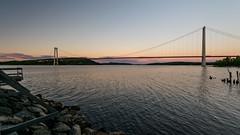 High Coast bridge (JH') Tags: nikon nikond5300 nature d5300 water rocks summer sky sigma sweden 1020 highcoast landscape bridge 2016