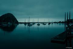 Glass dreaming (.KiLTRo.) Tags: morrobay california unitedstates kiltro ocean sea yacht blue sky water bay coast beach