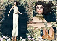 Ghee - Boho (Rehana MiSS SLVietnam, Face of CHOP ZUEY 2015) Tags: secondlife fashion rehana rehanaseljan hunt ghee chopzuey laboheme slink ink posesion reign