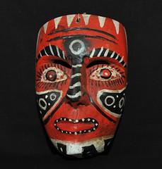 Nahua Mask Guerrero Mexico (Teyacapan) Tags: guerrero mexico mexican masks mascaras nahua xalitla faces man