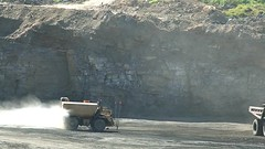 Terex Moving Soil (Video) (Photons of Days Past) Tags: terex rh120e cat caterpillar cabinrunroad surfacecoalmine alleganycounty maryland frostburg canoneos6d ef70300mmf456isusm video