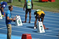 DSC_4787 (lenpereira) Tags: rio2016 olimpiadas2016 2016olympics atlestismo athletics teamjamaica yohanblake nikond3200 olimpadas olympics atletas athletes 200m 200mrasos