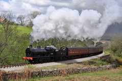 20090503        49395 (paulbrankin775) Tags: lnwr super d 080 darnholme 49395 goathland grosmont locomotive train smoke steam