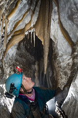 _GAV0244 (ChunkyCaver) Tags: gavelpot cave caving caver spelunking formations stalagmite stalactite