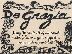 Thank You! (DeGrazia Gallery in the Sun) Tags: teddegrazia degrazia ettore ted artist nationalhistoricdistrict nonprofit foundation galleryinthesun artgallery gallery adobe architecture tucson arizona az santacatalinas desert exhibitions paintings art thankyou socialmedia followers