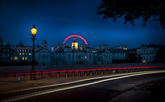 HorseGuards (Nick.Richards) Tags: horseguards horseguardsparade london longexposure nikon nikon1685 nickrichards nikond7100 night lightroom lighttrails londoneye architecture bluehour