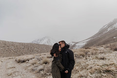 Nancy + Alex {Redding, California wedding photographer} (Taylor McCutchan) Tags: easternsierras highway395 engaged engagement wedding love adventure convictlake alabamahills owensriver snow winter spring session redding ca california photographer sierras yosemite