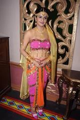 South Actress CHARULATHA Hot Photos Set-2- at Sri Ramanujar film shooting (6)