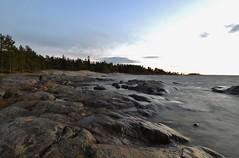 Fboda, Kuren, sun setting (Mika Lehtinen) Tags: kuren night lastlight sunsetting softsea nikon d600 fboda finland