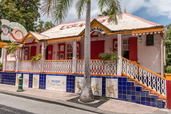 Restaurant franais - Philipsburg - [Sint-Maarten] (Thierry CHARDES) Tags: restaurant lescargot sigma1750mmf28 antilles carabes caribbean paysbas nederland