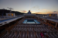 Sunset in St.Lucia (Andy Coe) Tags: stlucia lucia st cruise ship holiday december 2015 caribbean island sunset thomson dream