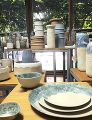 My New Ceramic Collections for 2017 (anczelowitz) Tags: clay ceramic pottery stoneware glaze texture color bubble moonrock anczelowitz desor design plate tableware vase craiganczelowitz handmade craft handpainted handcraft elledecor tabletop ceramiche