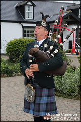 Gretna Green Piper Alan (graeme cameron photography) Tags: gretna green independent wedding photographers famous blacksmiths piper bagpipes