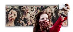 Selfie Zombies (Mr Gray Scale) Tags: zombie world day london wzd2016 horror blood fear selfie
