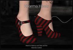 Kharma Heels (Oriana Kuhr) Tags: candy fair dillydolls sl secondlife maitreya slink heels pumps fashion dd dilly dolls straps hud
