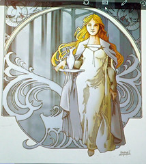 2016_09_100050 Galadriel (Gwydion M. Williams) Tags: britain greatbritain uk england autumn september oxonmoot oxonmoot2016 tolkien tolkiensociety stanthonyscollege tolkienart tolkienillustrantions galadriel