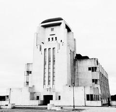 Radio Kootwijk B&W (tvdijk19) Tags: radio kootwijk veluwe netherlands fuji xt2 architecture building bw transmitter communication dutch east indies colonies link jules maria luthmann