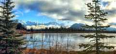 Vermillion Lake, Banff National Park, Alberta, Canada - ICE(5)1086-1089 (photos by Bob V) Tags: rockymountains canadianrockies panorama mountainpanorama banff banffpark banffnationalpark banffalbertacanada reflection reflectiononwater tranquil tranquility vermillionlake vermillionlakes