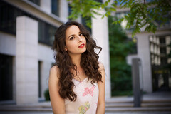 Anastasiya (Peter Apostolov) Tags: portrait photography fotografie bokeh city stadt schn hbsch hair haar gesicht mega fashion