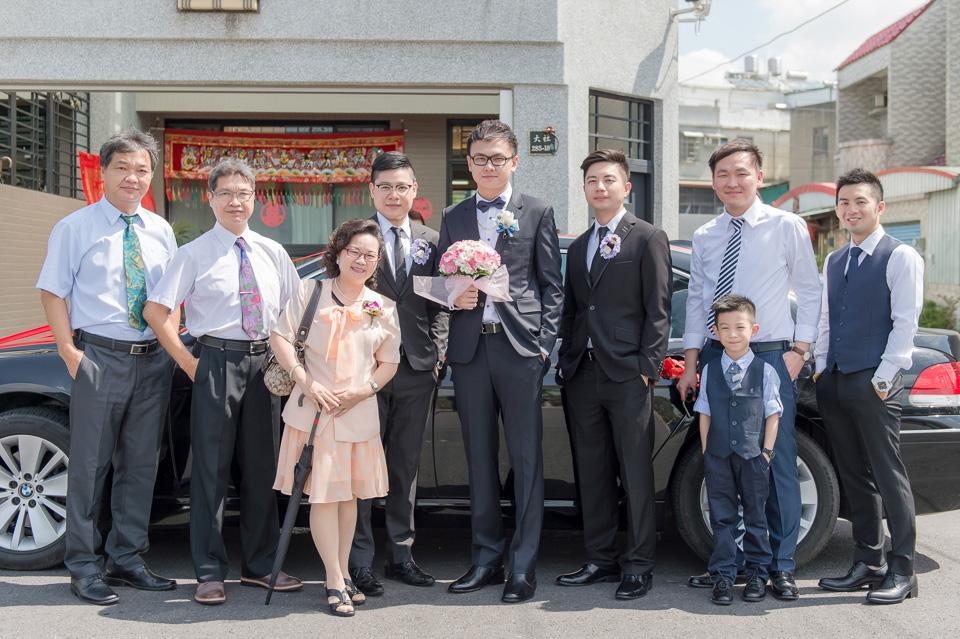 台南婚攝 情定婚宴城堡永康館 婚禮紀錄 C & V 029
