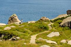 One step ahead (Greelow) Tags: greelow nikon d7000 ploumanach france bretagne breizh coast sea step pas vide avance lan girl fille brittany rock rocher celt celtic culture celtique