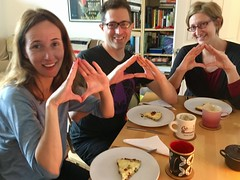 Photo of Dining with the Cult of the Triangle Eggs for breakfast.