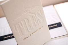 Trs (El Calotipo) Tags: businesscards letterpress stamping tarjetas printing design diseo gold