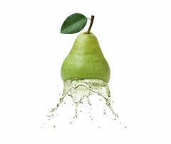 pear splash (Lorraine1234) Tags: photoediting pear splash water