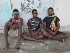 Locals, Honiara!