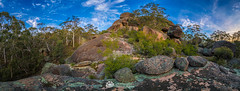 Evans Crown Pano_.jpg (Gary Hayes) Tags: australia sunsrisesunset landscape cloudscapes newsouthwales bluemountains
