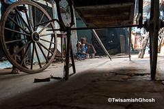 Photography : Twisamish Ghosh (Twisamish_ghosh) Tags: rickshaw handpulledrickshaw kolkata heritage rickshawwala transport documentary stilllife colour nikon d750 nikonindia contrast travel