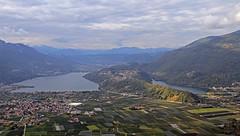 Lakes of Caldonazzo and Levico (Trentino - Italy) (ab.130722jvkz) Tags: italy trentino alps easternalps lakes