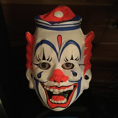 Creepy Clown (the ghost in you) Tags: halloween horror clowns vintage scary