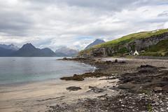 Elgol (Scriblerus) Tags: elgol skye isleofskye scotland coast landscape beach clouds mistyisleboattrips