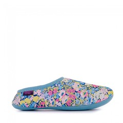 Cora - Liberty Moroccan Mule Slippers - Baby Blue / Rose Pink Ditsy Floral (Bedroom Athletics) Tags: liberty art fabric upper grade a australian sheepskin lining glitter logo tag attached cuff suede leather sole cora moroccan mule slippers baby blue rose pink ditsy floral bedroomathletics bedroom athletics bed room loungewear clothing womens nightwear slipper style look fashion fashionable stylish