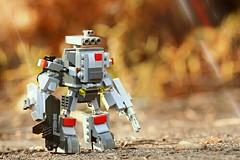 mecha (yudho w) Tags: mecha lego legomoc moc myowncreation robot