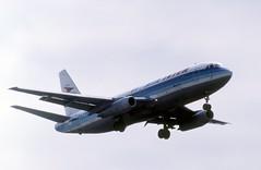 F-BTTA Air Inter Dassault Mercure 100 on finals at Paris Orly (heathrow.junkie) Tags: dassaultmercure airinter parisorly paris fbtth