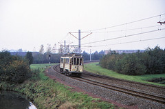 Once upon a time - The Netherlands - The interurban affair (railasia) Tags: holland provinceutrecht nieuwegein huizegeer sun ema htm motorcar heritage specialrun infra eighties