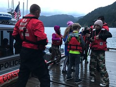 Coast Guard assists in rescue of 40 youths, 6 adults (Coast Guard News) Tags: coastguard searchandrescue crescentlake portangeles washington campdavid stevensmiddleschool unitedstates us