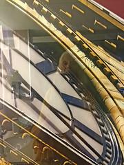 The Time Has Come (soniaadammurray - OFF) Tags: digitalphotography clock toronto ontario canada reflection selfportrait meagainmonday reflections