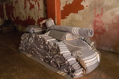 Prisoners at Number Four created blanket sculptures to pass the time and for rewards (amanda & allan) Tags: southafrica johannesburg joburg jozi constitutionhill fort prison mandela ghandi numberfour blanket sculpture