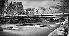 Winter (weicco) Tags: sony a7 ilce7 winter bridge river ice snow helsinki finland
