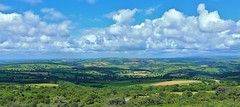 View of Devon From Kit Hill Cornwall (Eddie Crutchley) Tags: europe england cornwall outdoor nature devon landscape sunlight blueskies beauty kithill simplysuperb greatphotographers