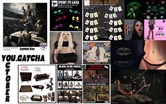 You.Gatcha - October Round Vendors (You.Gatcha Event) Tags: yougatcha come soon poses black click lybra phoenix free bird jullytobe secrets bigboss