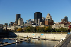 Skyscrapers @ View from Quai Jacques-Cartier @ Old Port @ Ville-Marie @ Montreal (*_*) Tags: montreal mtl canada quebec northamerica 2016 autumn fall october city sunny morning villemarie automne vieuxport oldport port pier quai jacquescartier