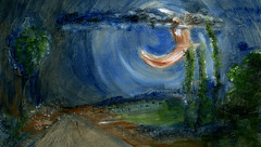 route 45 (Frdric Glorieux) Tags: frdricglorieux france route road peinture painting art acryl a4