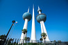 ..kuwait towers.. (asifshah.com) Tags: kuwait city towers architecture landmark day blue sky cityscape