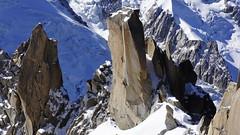 Alpinisme - Chamonix - Mont Blanc (le rosièrois) Tags: montblanc montagne ascension alpinisme courage escalade france chamonix aiguilledumidi