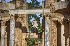 Ceres, la diosa (boscani@) Tags: merida teatro diosa ceres
