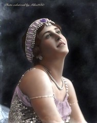 Lydia Kyasht by Bassano 1912, colorized (miko2660) Tags: kyasht bassano colorized photopainting ipadart